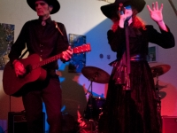 Chopper & Mather live at La Luz de Jesus gallery,