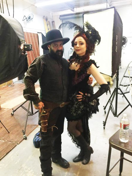 Luz and Mather BTS