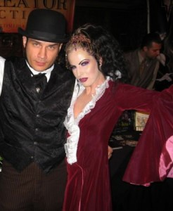 Victoria Vengeance and husband filmmaker Gris Grimly