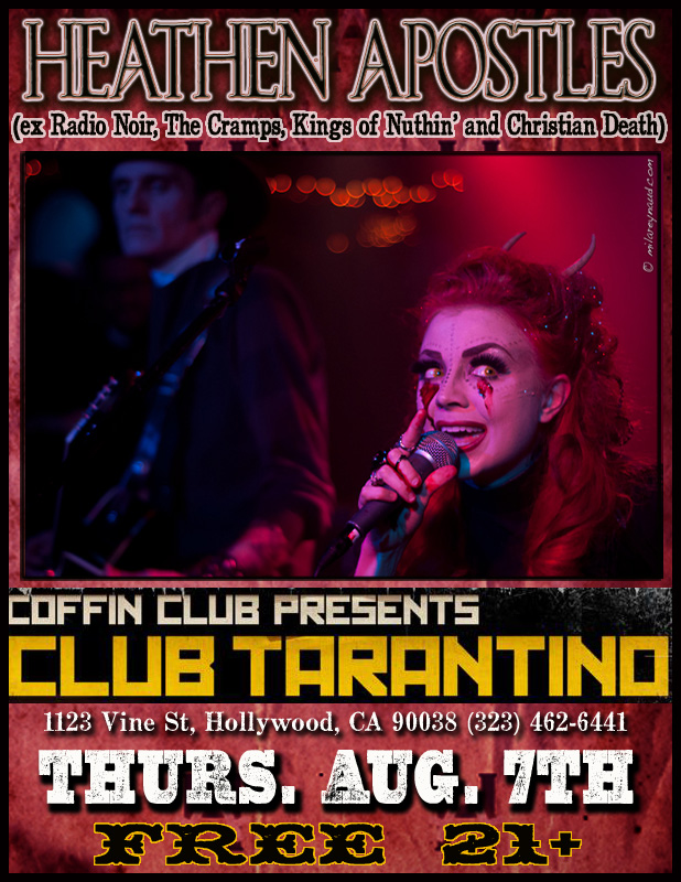 Club Tarantino 8-14 flier copy