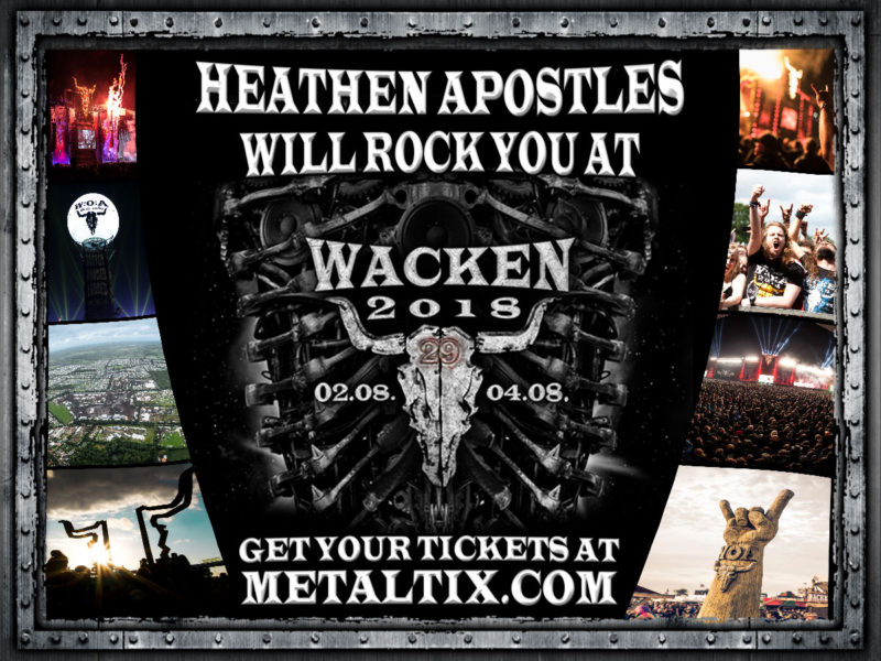 Heathen Apostles Wacken Open Air