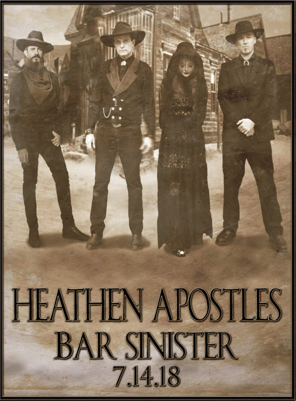Heathen Apostles Return to Bar Sinister
