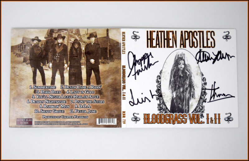 Heathen Apostles Signed LPs and CDs
