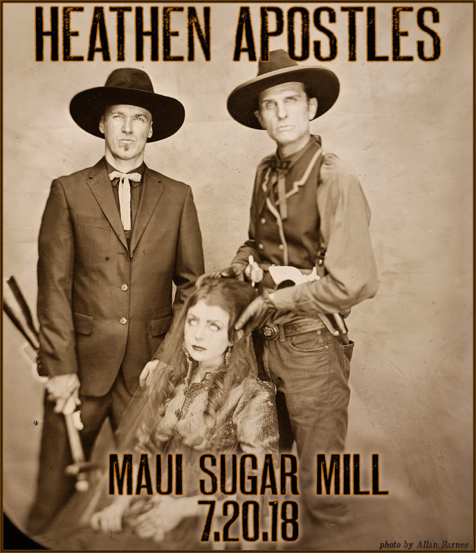 Heathen Apostles are at maui sugar mill