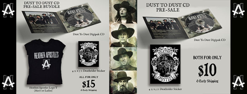 "Americana Goth Album ""Dust To Dust"""