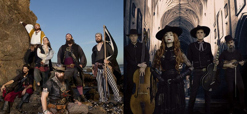 Heathen Apostles To Appear With Pirate Goth Band
