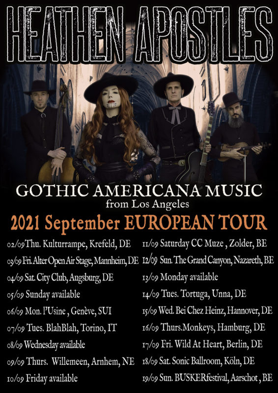 southern gothic music tour